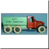 Tootsietoy Mack City Fuel Truck - first casting